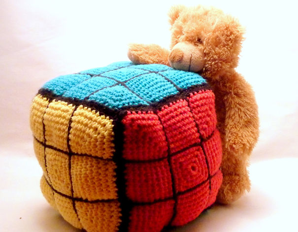 Rubics Cube Pillow