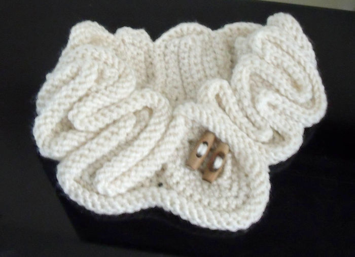 Crochet And Knit Twisted Neck Warmer By Fibreromance.etsy