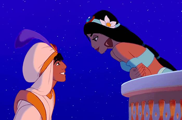 Jasmine with realistic hair volume