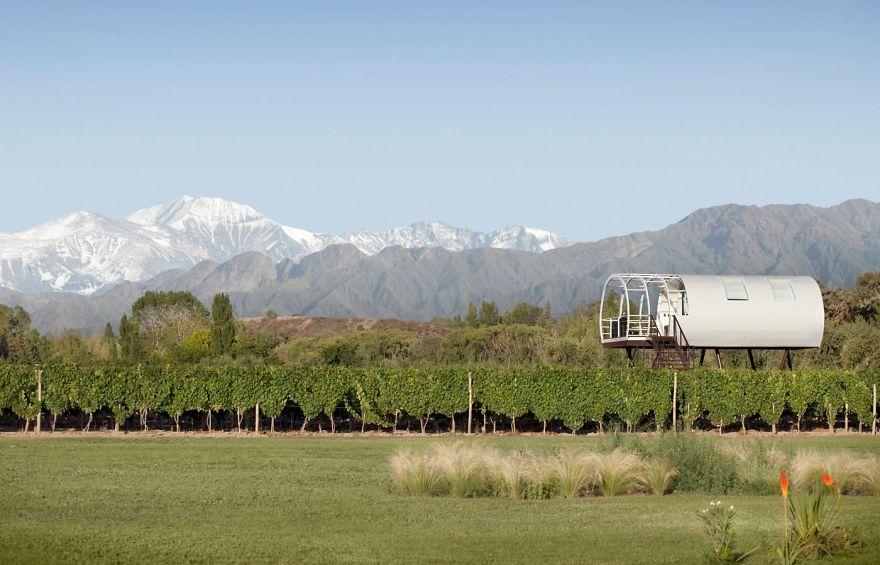 Entre Cielos Hotel De Lujo, Mendoza, Argentina (a Room Above The Vineyards)