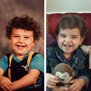 22+ Side-By-Side Photos Of Parents And Their Kids At The Same Age