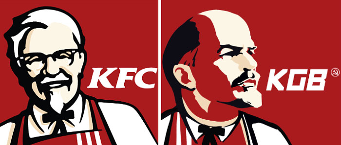 Famous Brands In Communist Style