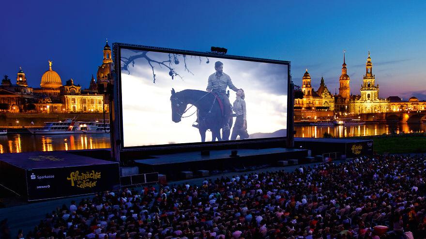 Filmnächte Am Elbufer, Dresden, Germany
