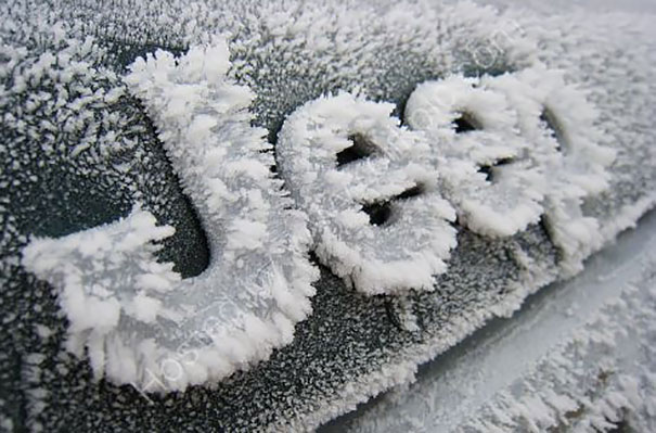 Jeep car with with potential Cold Weather damage.