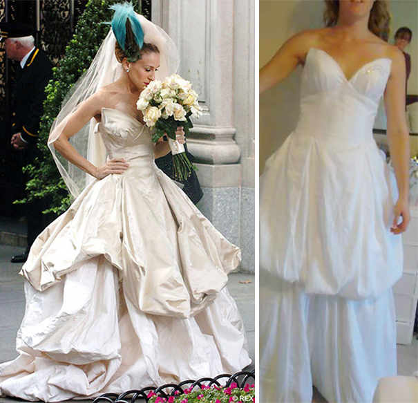 Wedding Dress Fails.Ads Versus Reality 32 Disappointing Wedding Dresses Bored