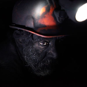 A Miner Takes A Break Inside An Unregulated Coalmine In Sabinas, Mexico