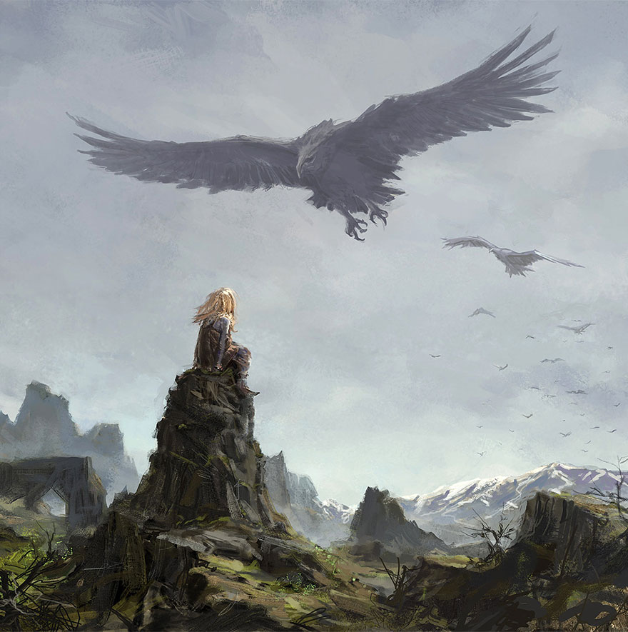 iceland-mythic-creatures-paintings-asgeir-jon-asgeirsson-2