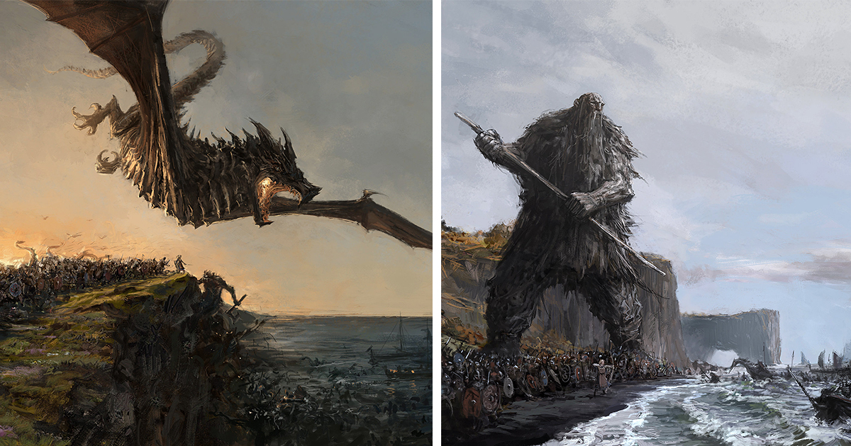 The Protectors Of Iceland: My Fantasy Paintings Inspired By Icelandic Myths And Music