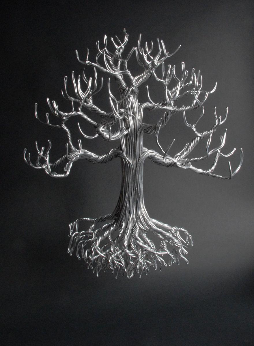 Aluminum Tree By Devin Mack