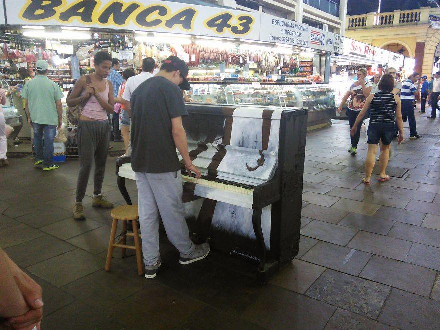 Public Market In Porto Alegre, Brazil, 27 Nov 2014