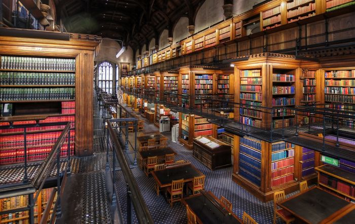 Library Of The Honourable Society Of Lincoln's Inn, London Wc2, U.k.