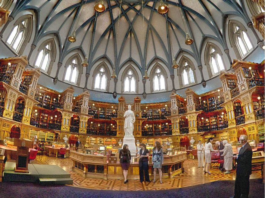 The Canadian Library Of Parliament