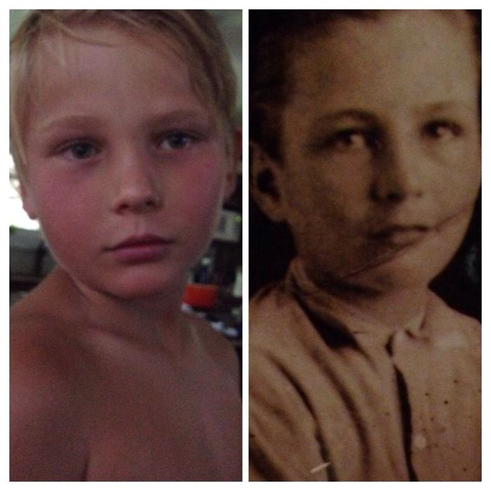 Great Grandfather And Great Grandson