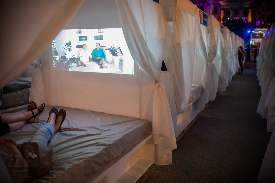 Transatlantyk Festival - Cinema In Bed (open-air), Poznań