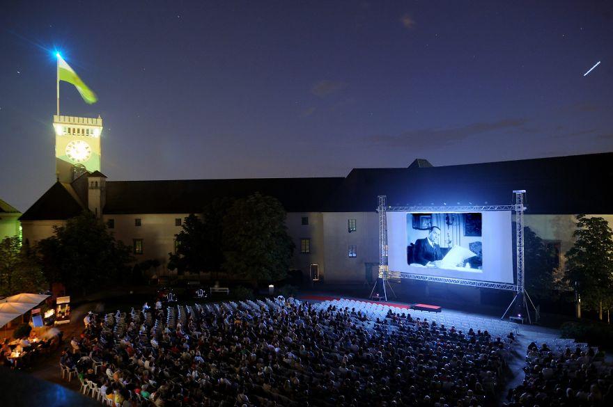 Cinema Under The Stars - Ljubljana Castle