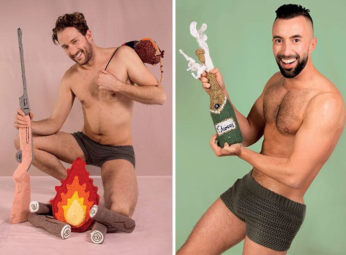 We Made A Sexy Men & Yarn Calendar In Response To Pinup Girls' Calendars