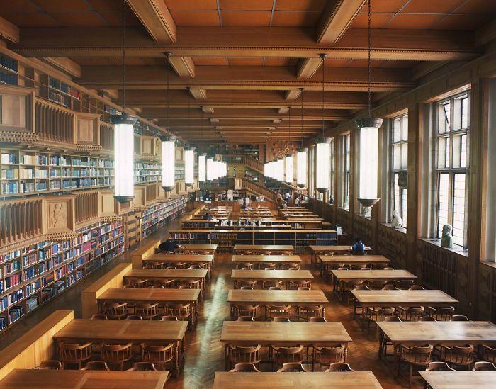 Central University Library, Leuven, Belgium