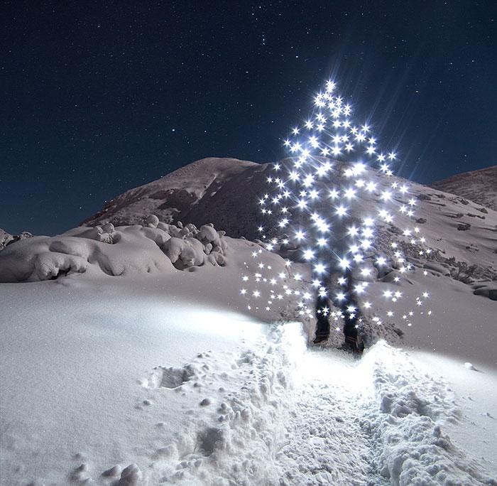 Lightpainting In The Polish Tatra Mountains