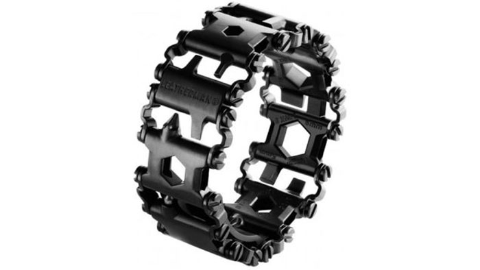 25 Tools Combined In One Bracelet By Leatherman