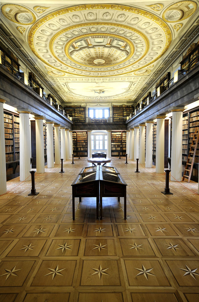 The Great Library Of The Reformed Church College Of Sarospatak – Sarospatak, Hungary