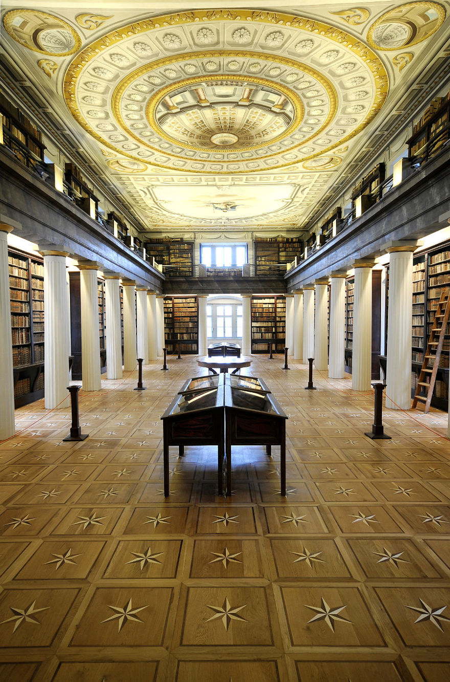 The Great Library Of The Reformed Church College Of Sarospatak - Sarospatak, Hungary