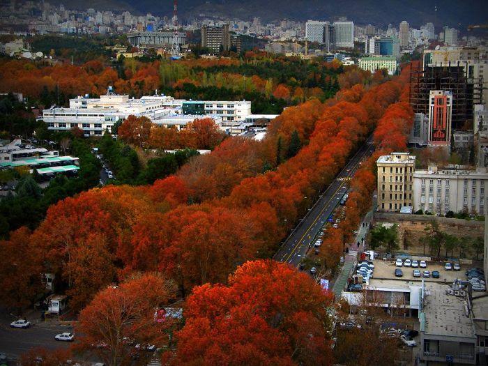 Valiasr Street - Tehran