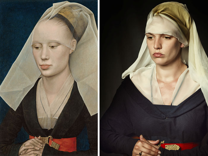 Raising Our Forefathers From The Dead: I Recreate Costumes From Famous Paintings