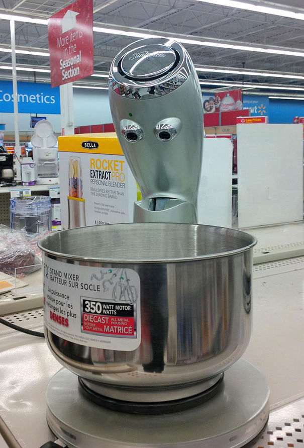 Surprised Mixer