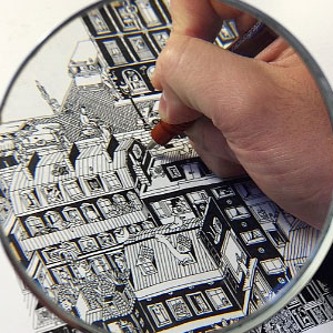 I Spent Over 150 Hours Drawing Each Of These Intricate Cityscapes