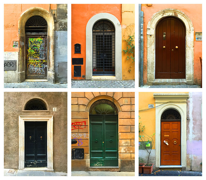 My Photos Of All The Italian Doors