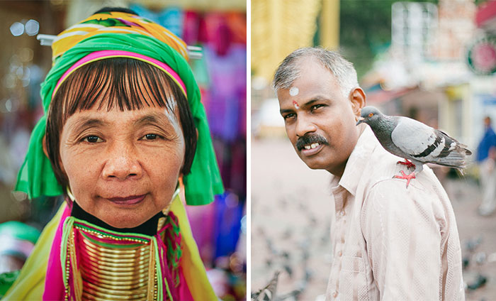 My Friend And I Traveled All Around Asia Capturing Portraits Of Interesting People