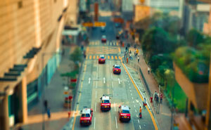 My Tilt-Shift Photos Make Hong Kong Look Like A Miniature Playset