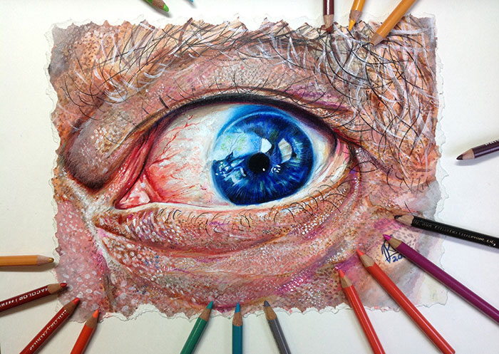 I Use Colored Pencils To Draw Realistic Pictures