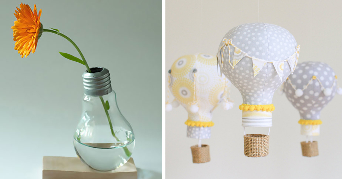 22 Awesome DIY Ideas For Recycling Old Light Bulbs