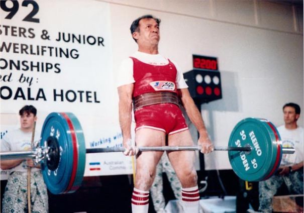 Robert Cortes, 80, Aau Powerlifting Hall Of Fame, 20 World/35 National Titles, 42 World Records