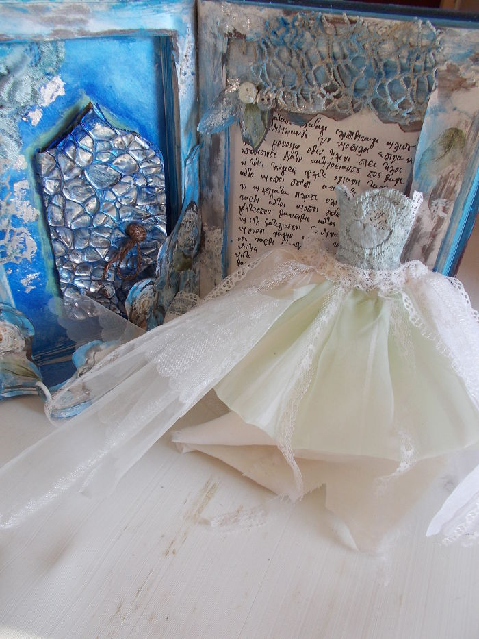 """Altered Book Sculpture By Mademeathens Based On """"great Expectations"""""""