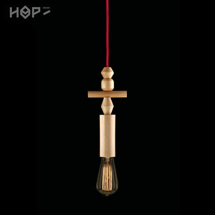 Totem Lamps By Hop Design