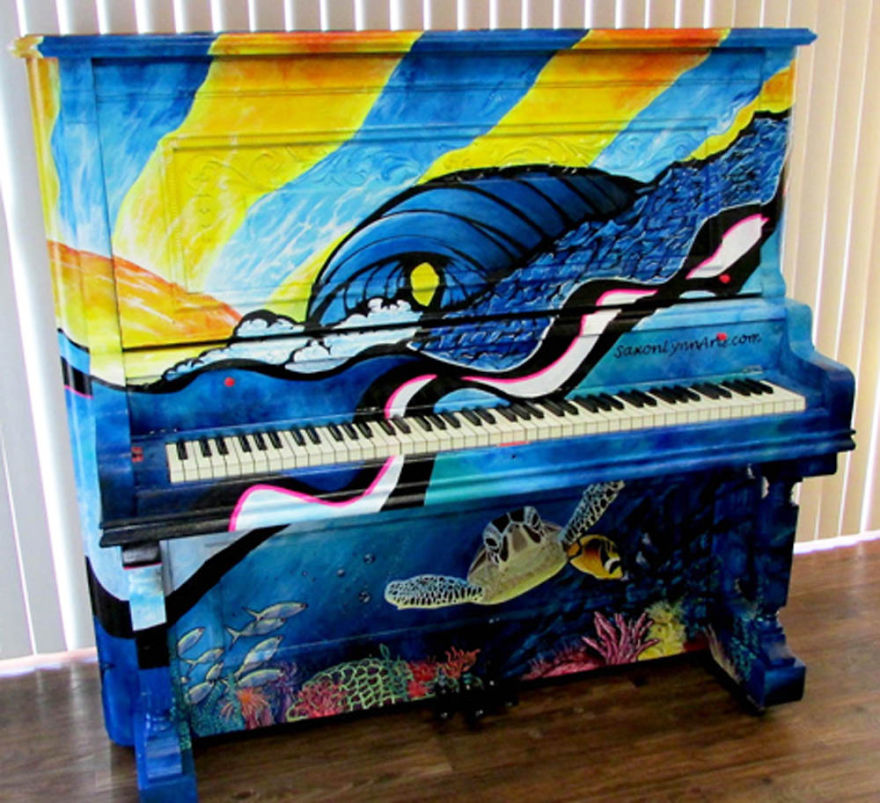 Under The Keys - By Saxonlynn Arts --- Mansfield Texas