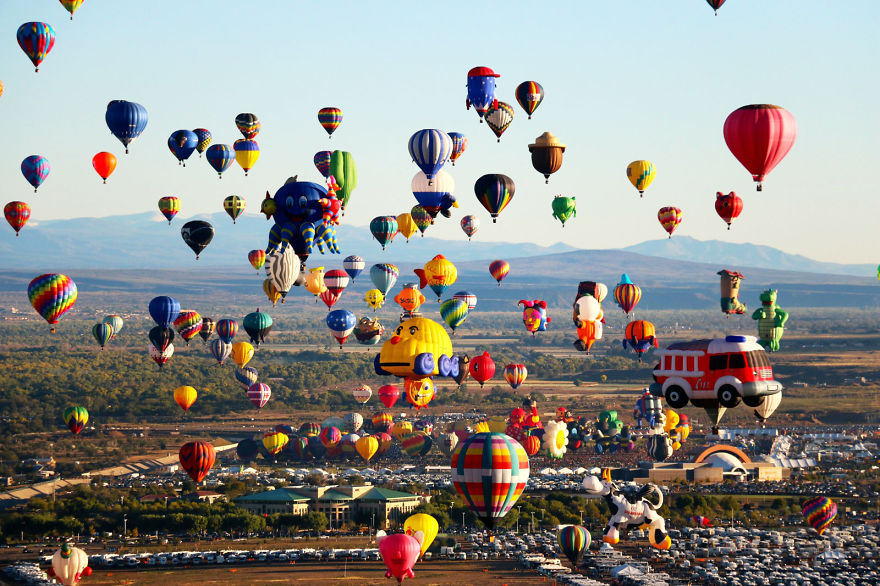 Albuquerque International Balloon Fiesta (EE.UU.)