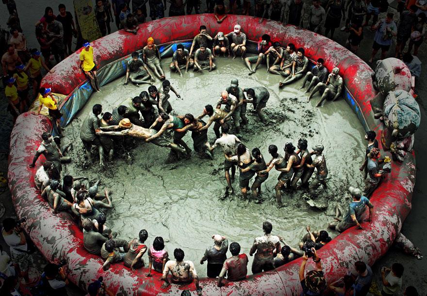 Mud Festival de Boryeong (Corea del Sur)