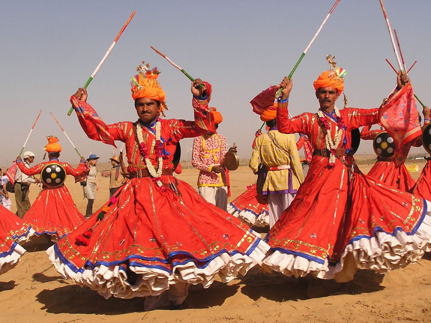 Desert Festival In Jaisalmer (India)
