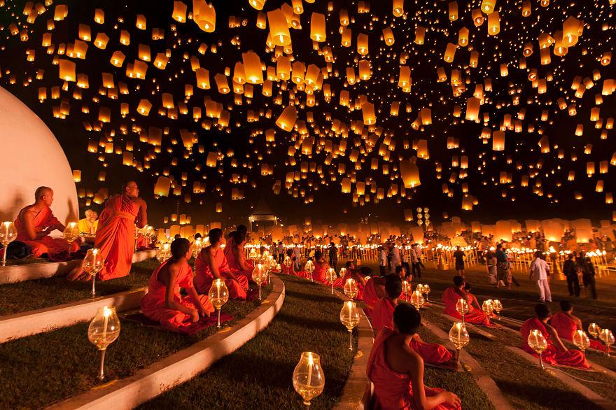 Yi Peng Lantern Festival (Thailand)