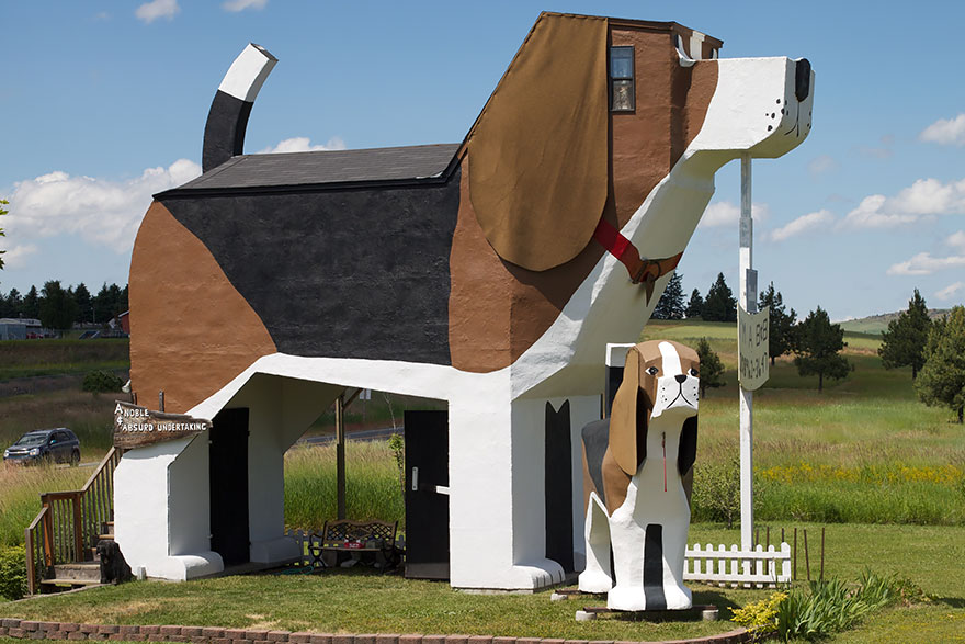Dog Bark Park Inn, Idaho, USA