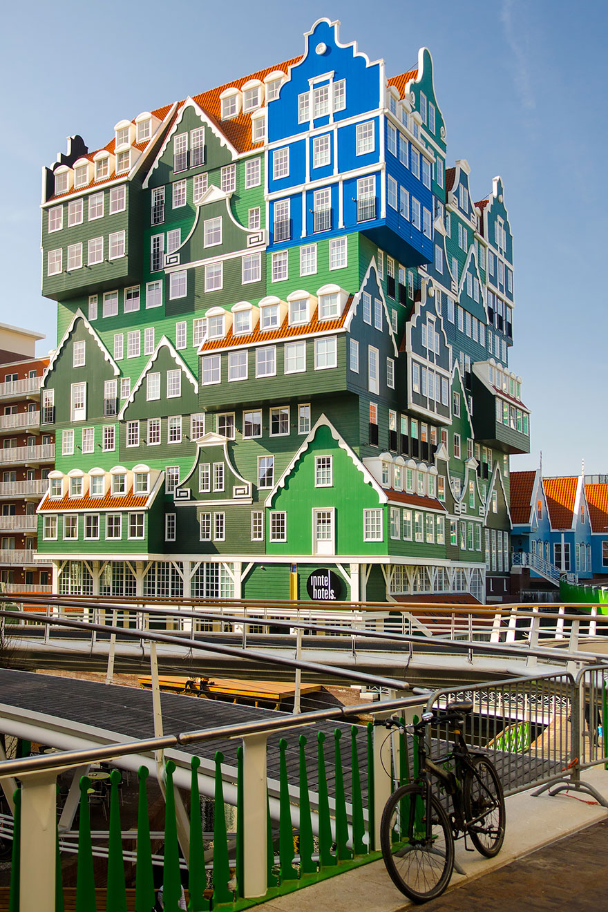 25 of the coolest hotels in the world bored panda for Amsterdam hotel