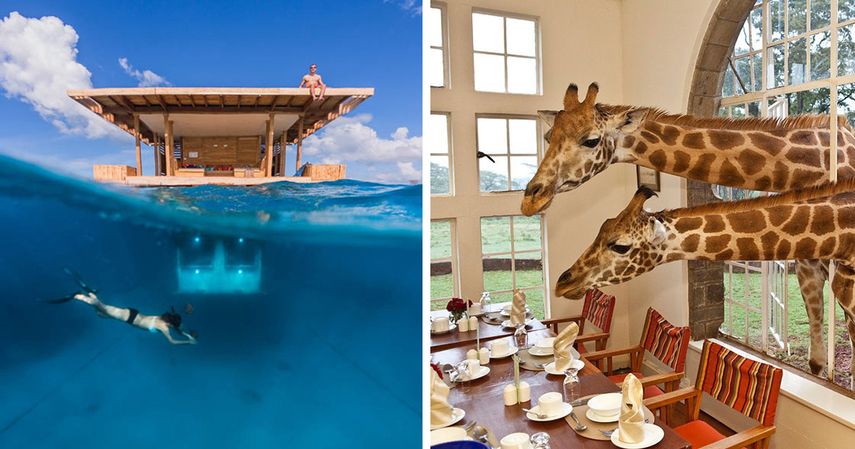 25 of the coolest hotels in the world bored panda