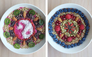 I Arrange My Vegan Food Into Detailed Bowl Mandalas