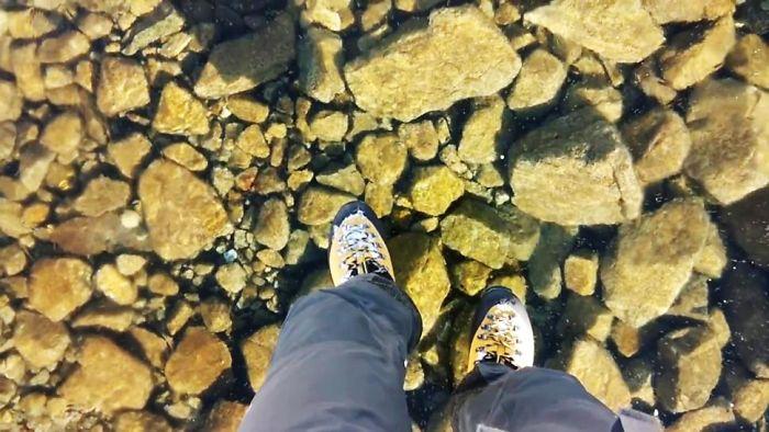 Clear Ice In Slovakia – The High Tatras