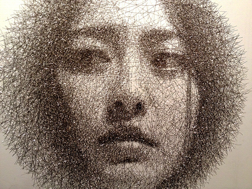 Wire Sculptures By Sang Mo Park