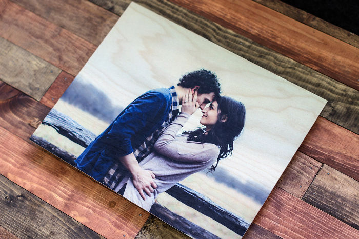 Photos On Wood Series: In Love With The Wood Prints