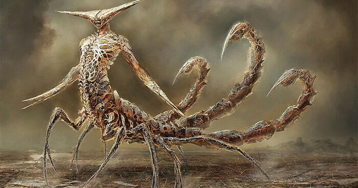 12 Zodiac Signs Reborn As Terrifying Monsters By Damon Hellandbrand
